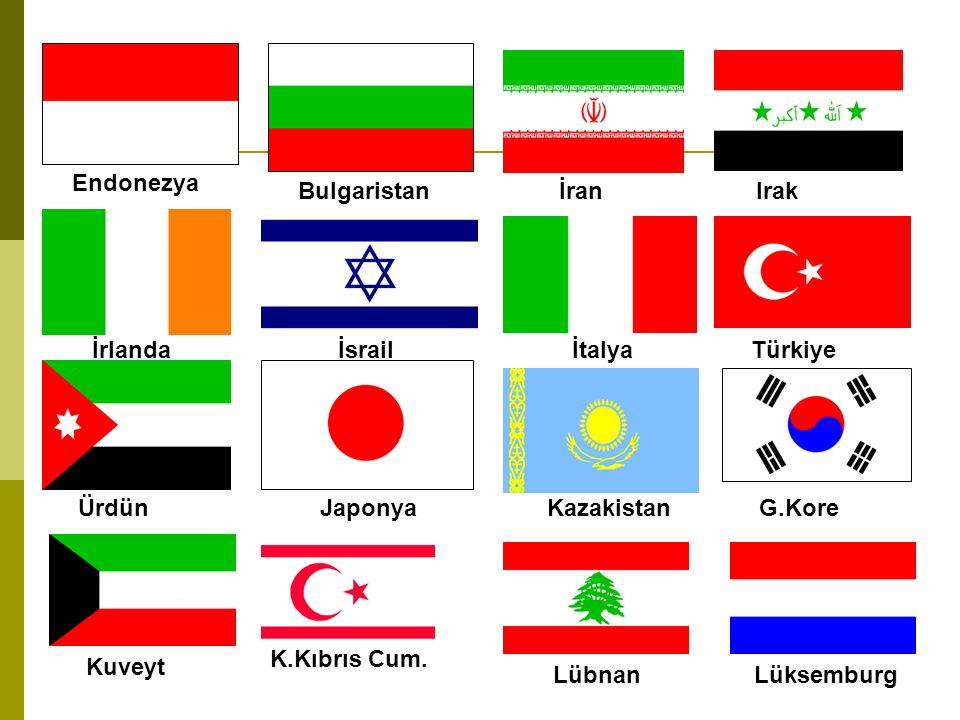 Makedonya Malta Meksika Fas Hollanda Y.Zelanda Nikaragua Nijerya Norveç Pakistan Panama Peru Paraguay Polonya Portekiz Romanya