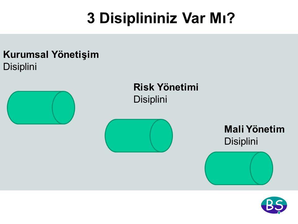 3 Disiplininiz Var Mı? Mali Yönetim Disiplini Kurumsal Yönetişim Disiplini Risk Yönetimi Disiplini