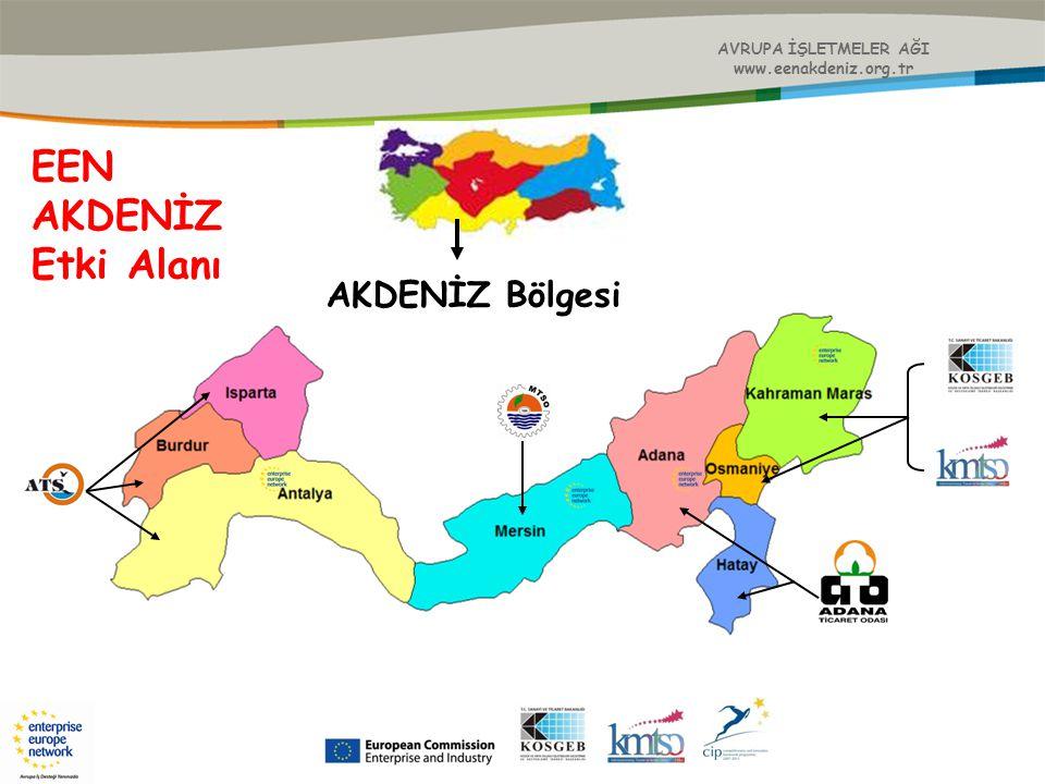 AVRUPA İŞLETMELER AĞI www.eenakdeniz.org.tr Ayrıca; Gerçekleştirilen etkinliklere işletmelerden, kamudan ve sivil toplum kuruluşlarından 1643 kişi katılım göstermiştir.