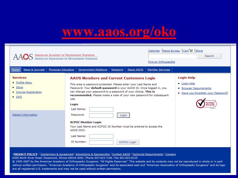 www.aaos.org/oko
