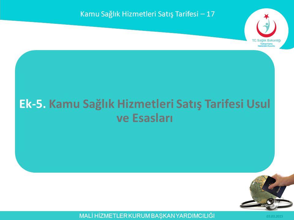 MALİ HİZMETLER KURUM BAŞKAN YARDIMCILIĞI SAĞLIK TURİZMİ VE TURİST SAĞLIĞI KAPSAMINDA KİŞİLERE SUNULAN SAĞLIK HİZMETLERİN ÜCRETLENDİRİLMESİ– 2 Bakanlığımız, TİKA veya Başbakanlık Yurtdışı Türkler ve Akraba Topluluklar Başkanlığı tarafından uygun görülen STK'lar tarafından, Balkanlardan ve Türk Cumhuriyetlerinden ülkemize tedavi amaçlı getirilen hastalar, Türk İşbirliği ve Koordinasyon Ajansı Başkanlığı (TİKA) tarafından getirilen hastalar, Uluslararası Sosyal Güvenlik Sözleşmeleri kapsamında sağlık yardımı alma hakkı olan ülke vatandaşları.