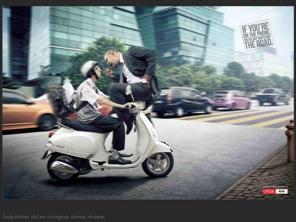 Onida Mobiles, McCann Worldgroup, Mumbai, Hindistan
