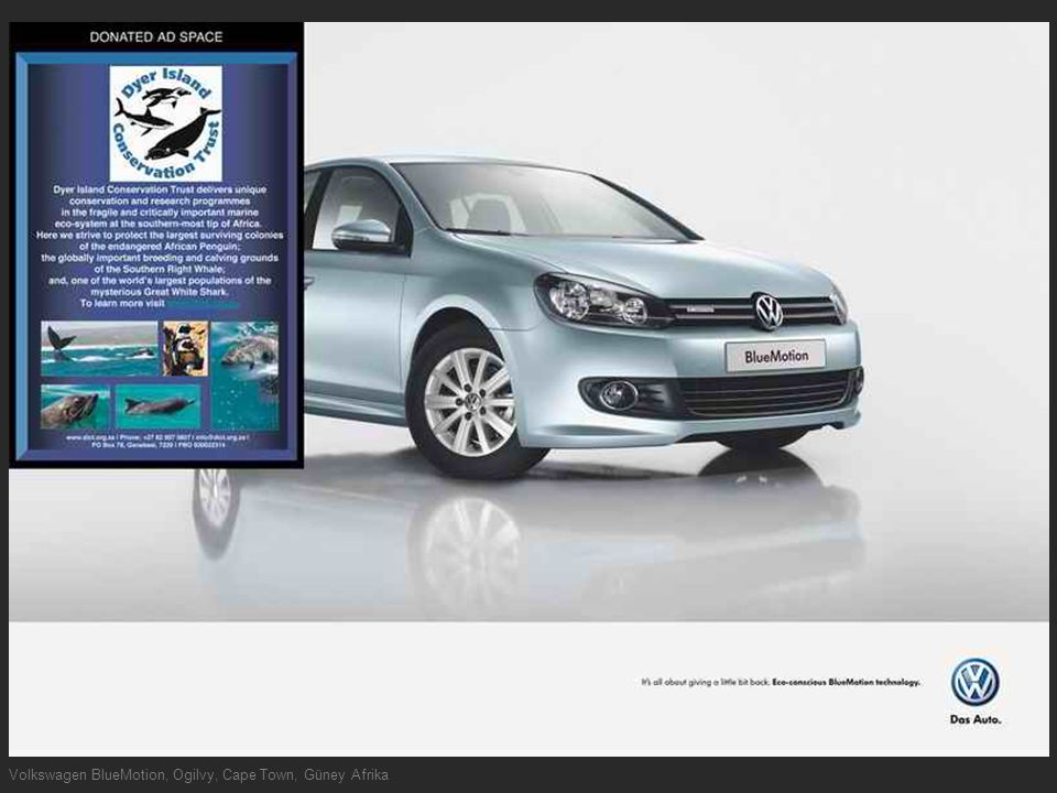 Volkswagen BlueMotion, Ogilvy, Cape Town, Güney Afrika