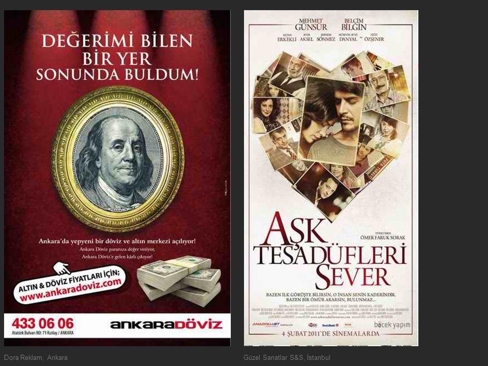Dora Reklam, AnkaraGüzel Sanatlar S&S, İstanbul