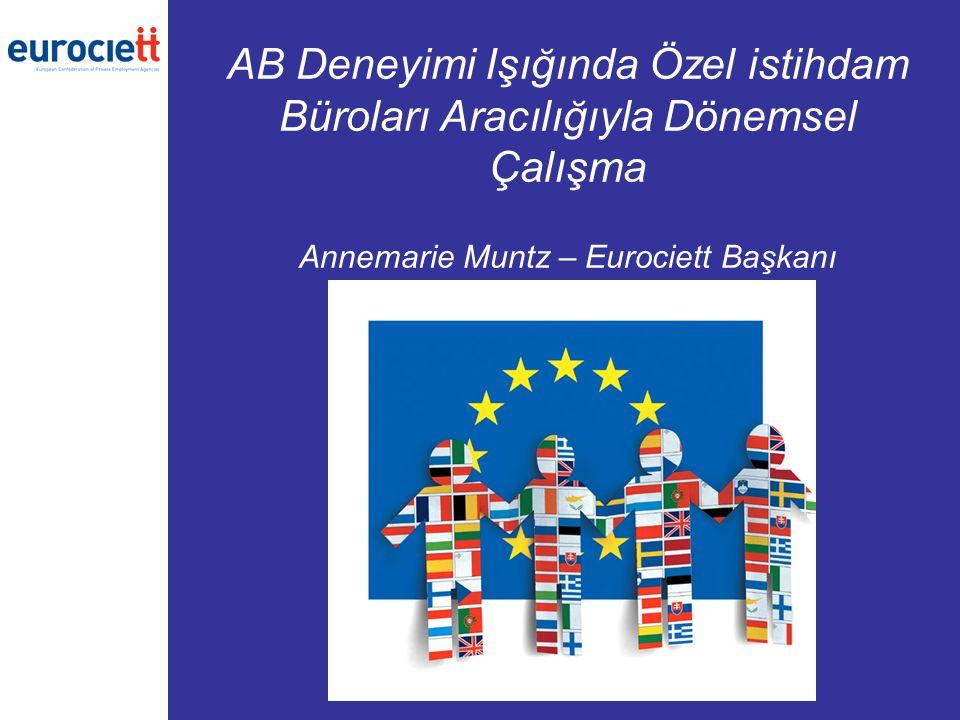 22 Ülke başına özel istihdam bürolarının şube sayısı - Kaynak: CIETT Şube sayısı Birleşik Krallık Fransa İspanya Avusturya Belçika Portekiz Almanya Danimarka Hollanda İtalya