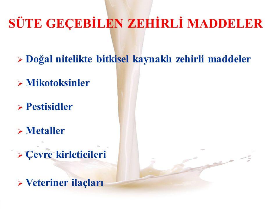 KALINTILARIN ÖNLENMESİ 1.Veteriner Hekimler 2. Hayvan Yetiştiricileri 3.