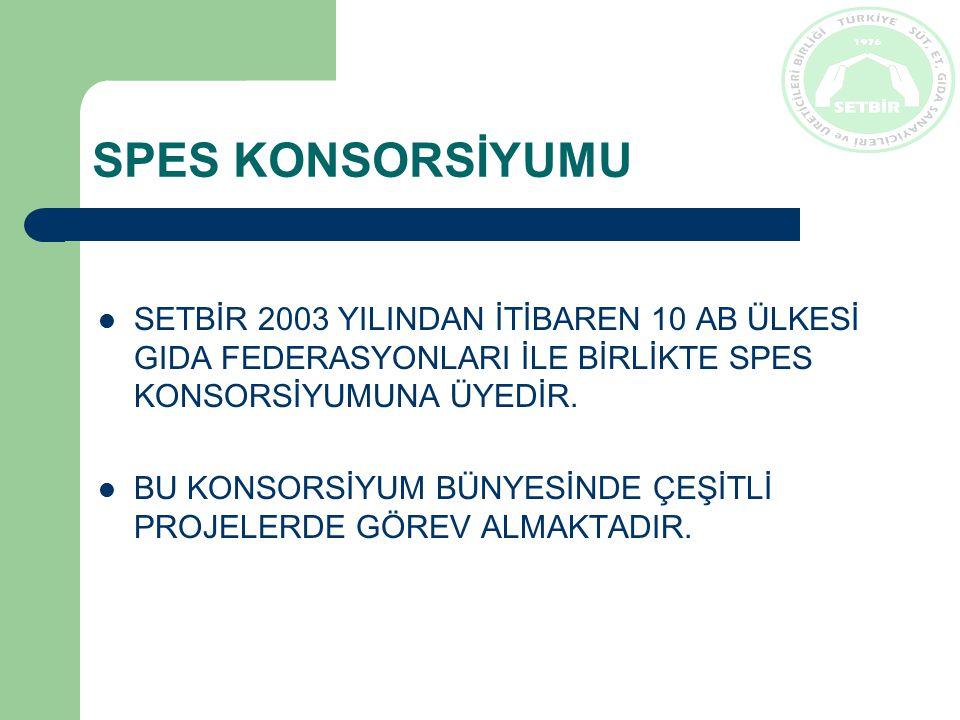 SPES KONSORSİYUMU SPES KONSORSİYUMU ÜYELERİ: İtalya, Fransa, Danimarka, Macaristan, Çek Cumhuriyeti, İspanya, Belçika, Portekiz, Yunanistan, Avusturya, Türkiye SPES (Spread European Safety) Konsorsiyumu Avrupa Birliği 6.