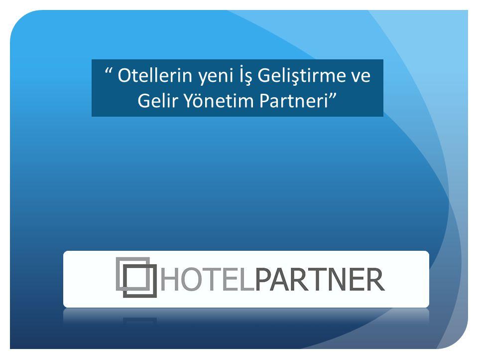Otellerin yeni İş Geliştirme ve Gelir Yönetim Partneri