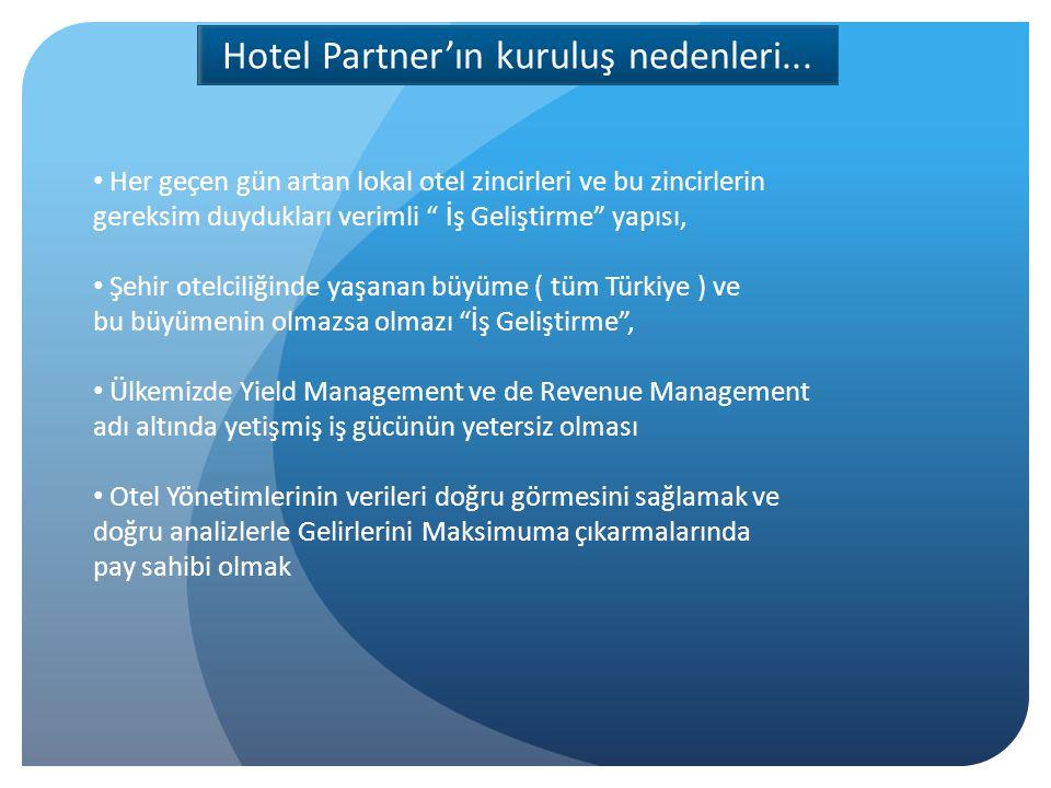 Hotel Partner ile çalışmak Otelinize ne katar.