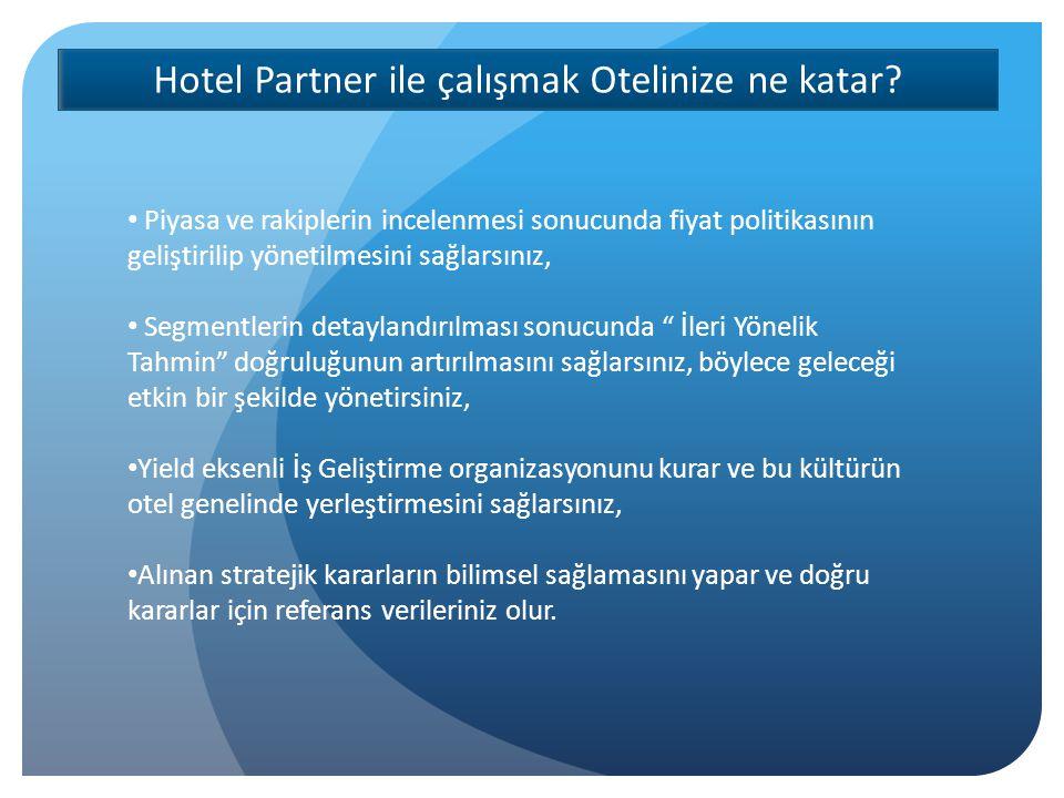 Hotel Partner Gelirleri nasıl arttırır.