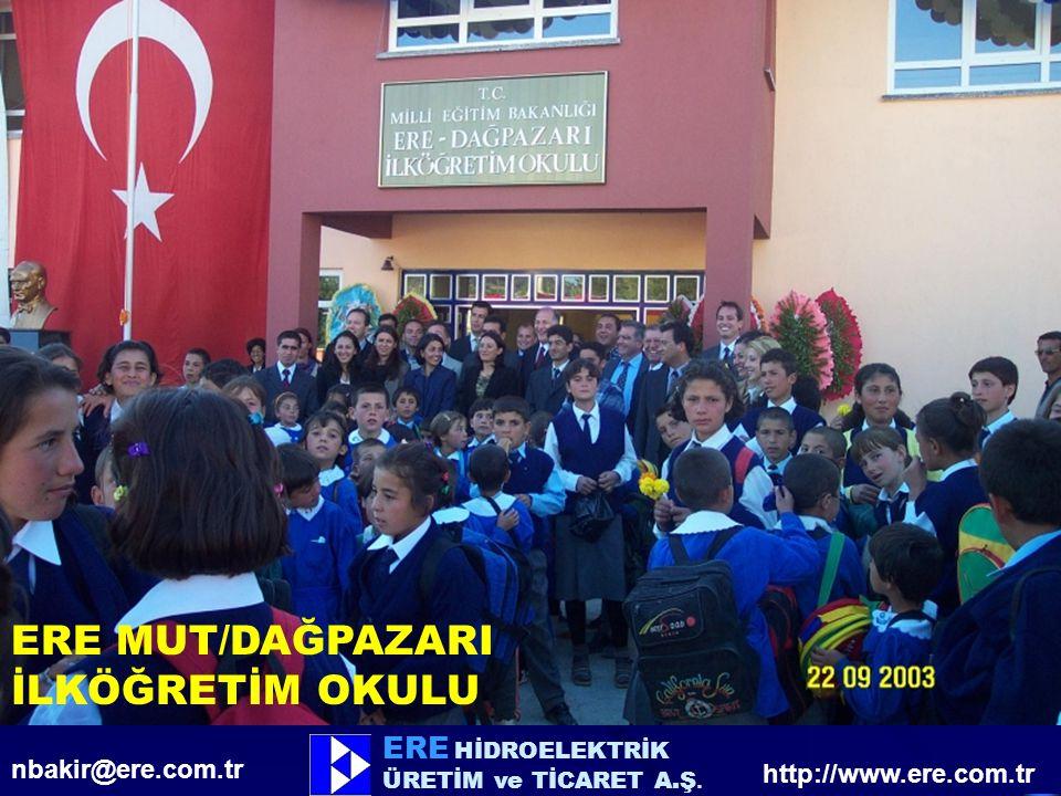 ERE HİDROELEKTRİK ÜRETİM ve TİCARET A.Ş.