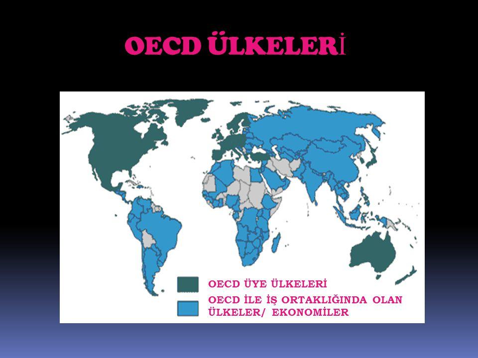 OECD ÜLKELER İ OECD ÜYE ÜLKELERİ OECD İLE İŞ ORTAKLIĞINDA OLAN ÜLKELER/ EKONOMİLER
