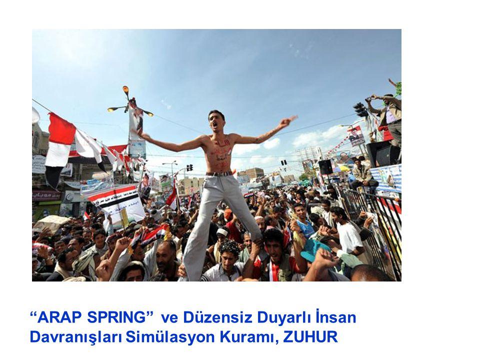 """""""ARAP SPRING"""" ve Düzensiz Duyarlı İnsan Davranışları Simülasyon Kuramı, ZUHUR"""