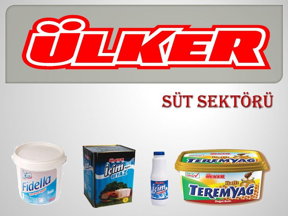TOPLAM PAZAR HAKKINDA… Türkiye'de süt ve süt ürünleri sektörünün büyüklüğü 3 milyar dolar civarında.