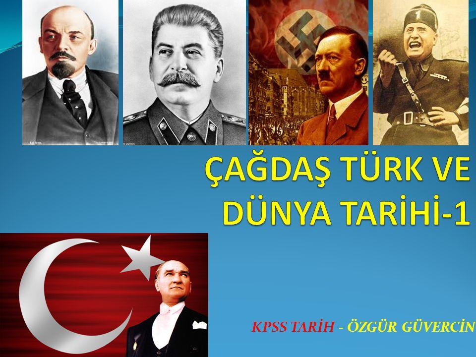 KPSS TARİH - ÖZGÜR GÜVERCİN