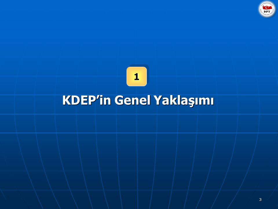 3 11 KDEP'in Genel Yaklaşımı