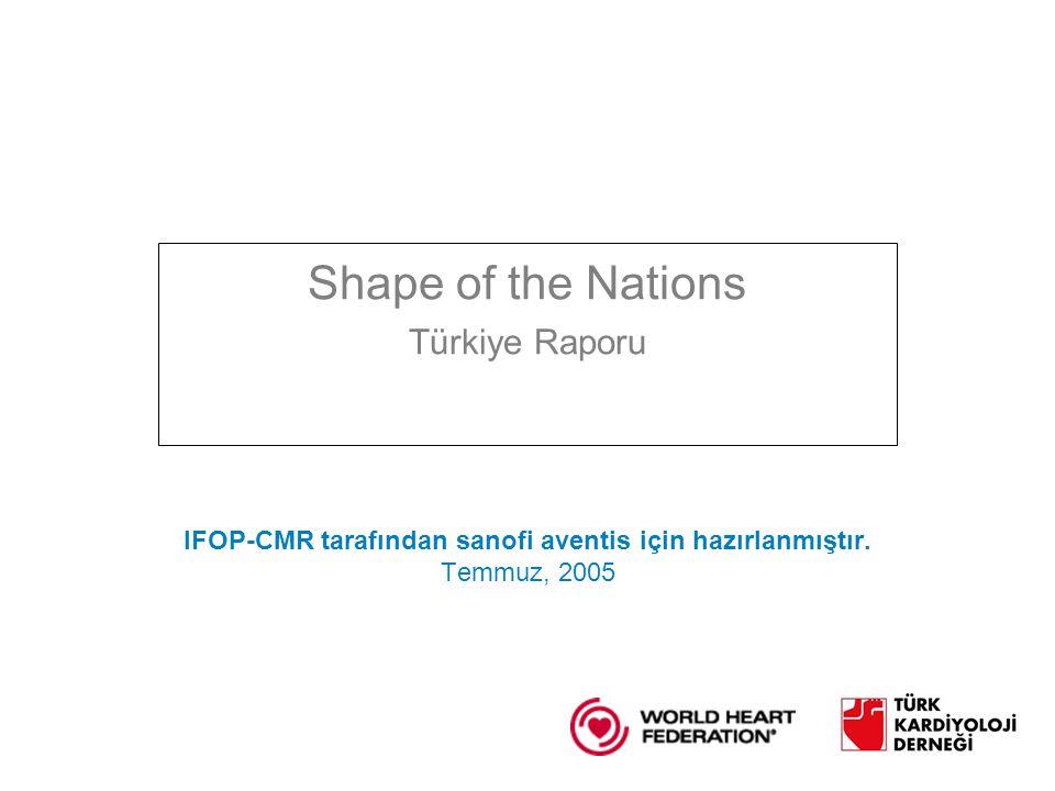 IFOP-CMR tarafından sanofi aventis için hazırlanmıştır.