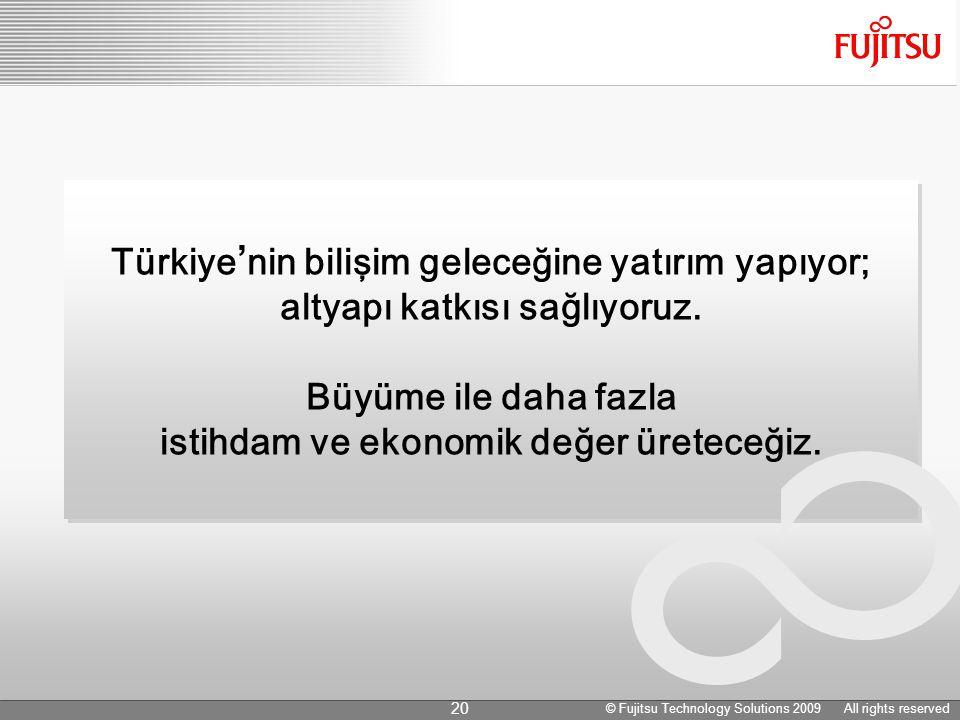 Türkiye ' nin bilişim geleceğine yatırım yapıyor; altyapı katkısı sağlıyoruz.