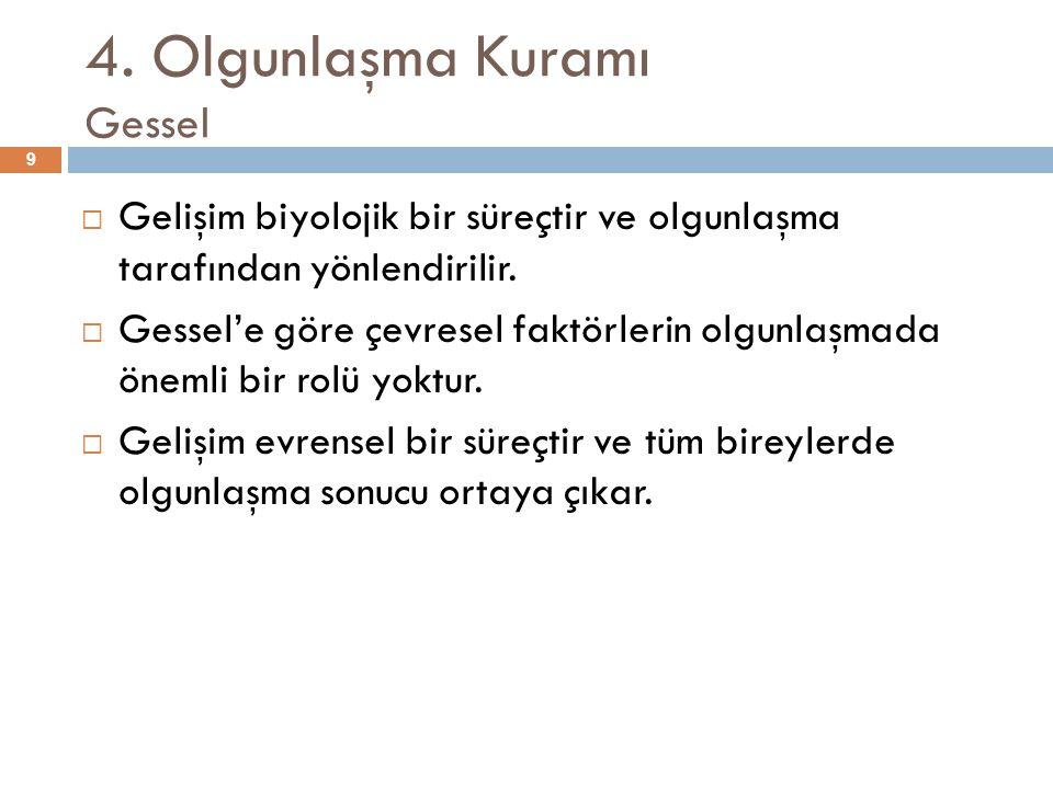 Ekolojik Sistem Kuramı  1.