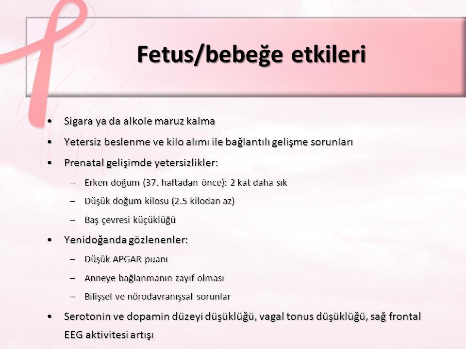 Doktorun tedavi sonuçlarını tahmin etme süreci İlacın etkileri –Fetal toksisite riskinin değerlendirilmesi Hiç olmayabilir Teratojen de olabilir Tedavisiz bırakmanın etkileri (anne ve fetusa) Hiçbir karar risksiz ya da mükemmel değildir