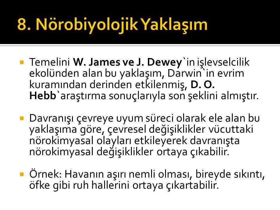 Temelini W.James ve J.