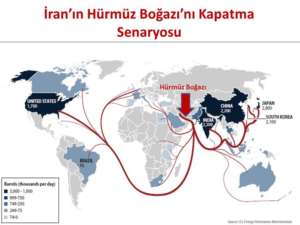 İran'ın Hürmüz Boğazı'nı Kapatma Senaryosu Hürmüz Boğazı