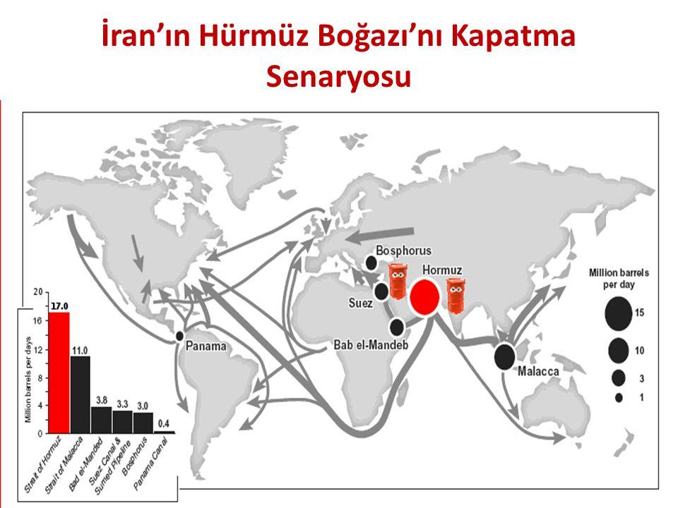 İran'ın Hürmüz Boğazı'nı Kapatma Senaryosu