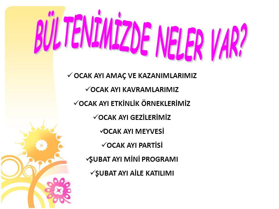 PSİKOMOTOR ALAN Amaç 1.