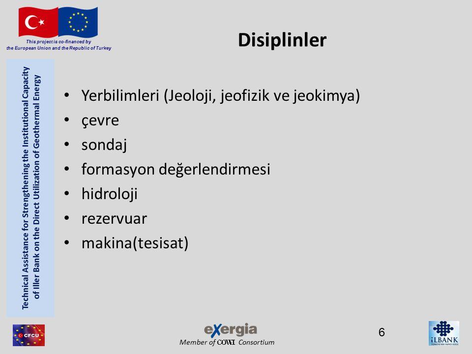 Member of Consortium This project is co-financed by the European Union and the Republic of Turkey 17 jeotermal projeler için sistematik bir planlama ve yönetim yaklaşımı kaçınılmazdır müşteri ihtiyaçlarının tesbiti ve bunların kapsam, zaman, maliyet açısından dengede olduğu noktada karşılanması kaliteyi getirmektedir
