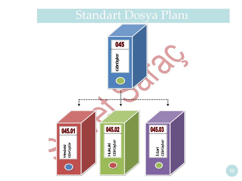 35 Standart Dosya Planı