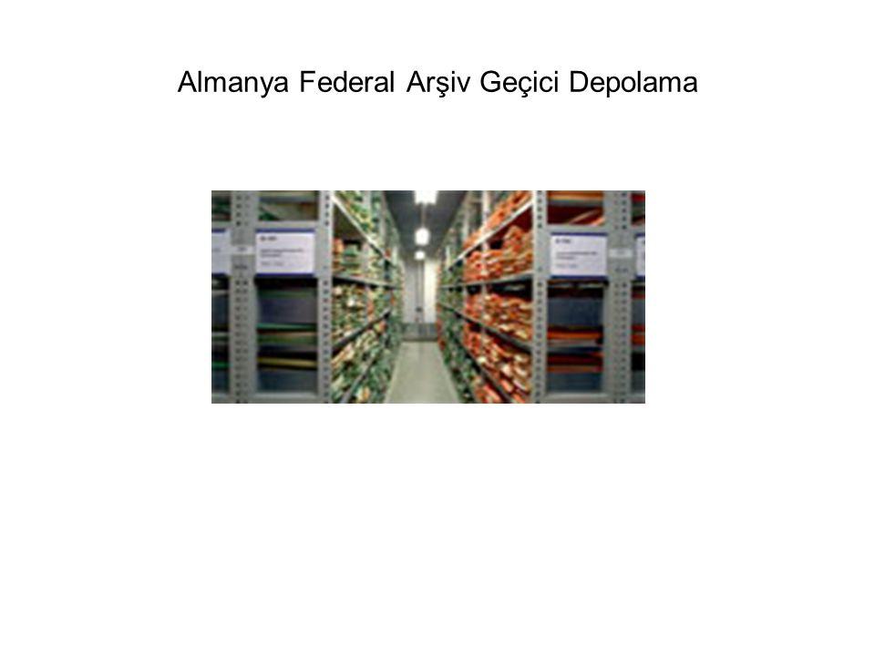 Almanya Federal Arşiv Geçici Depolama