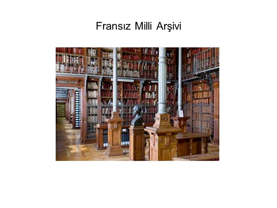 Fransız Milli Arşivi