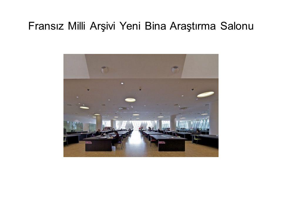 Fransız Milli Arşivi Yeni Bina Araştırma Salonu