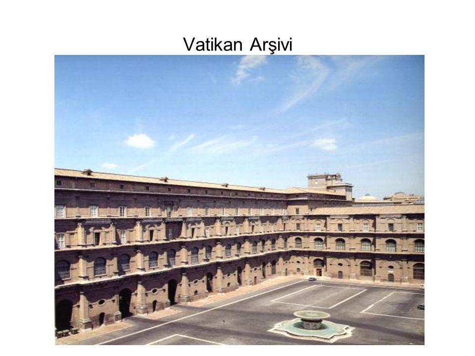 Vatikan Arşivi