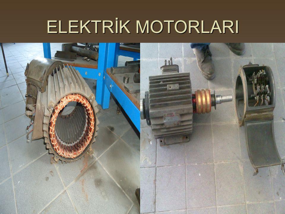 ELEKTRİK MOTORLARI