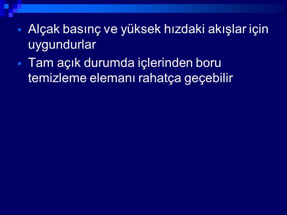 GEYT VALFLERİN YAPI ŞEKİLLERİNE GÖRE ADLANDIRILMASI I.