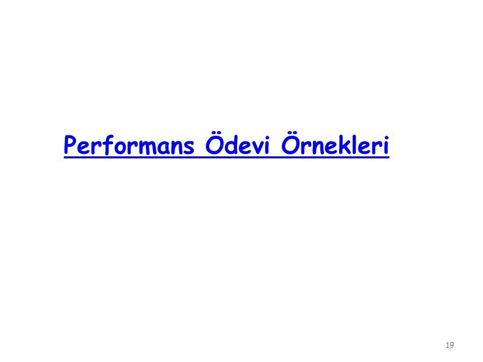 Performans Ödevi Örnekleri 19