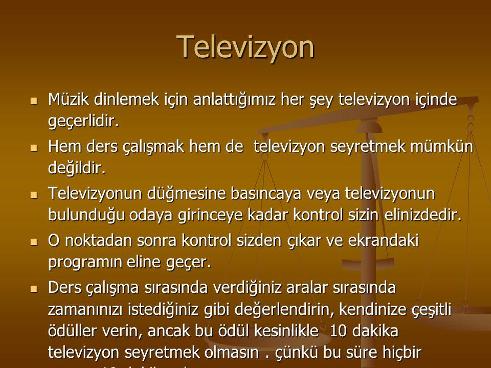 Televizyon Müzik dinlemek için anlattığımız her şey televizyon içinde geçerlidir.