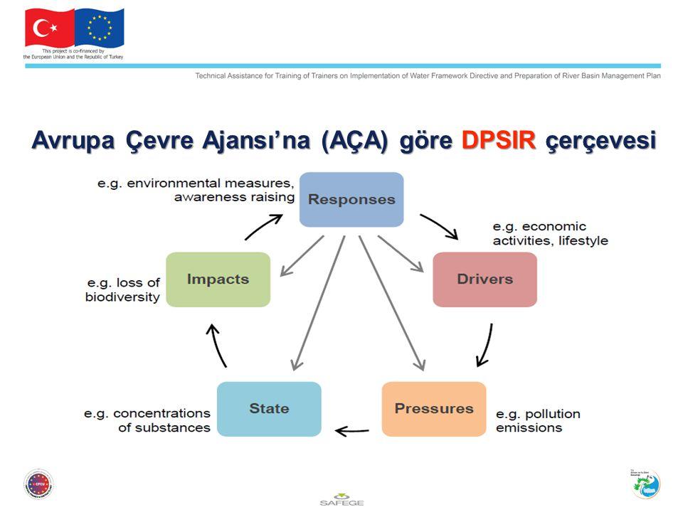 Avrupa Çevre Ajansı'na (AÇA) göre DPSIR çerçevesi