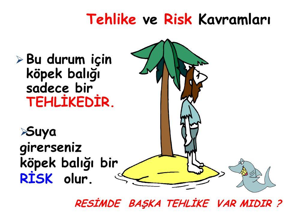 Tehlike ve Risk Kavramları Diğer tehlikeler nelerdir.