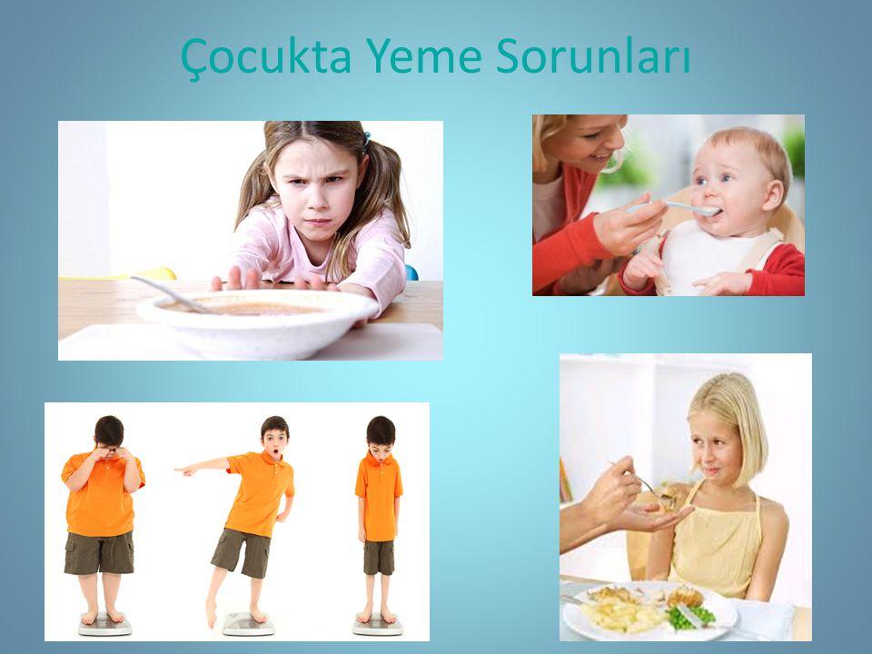 Çocukta Yeme Sorunları