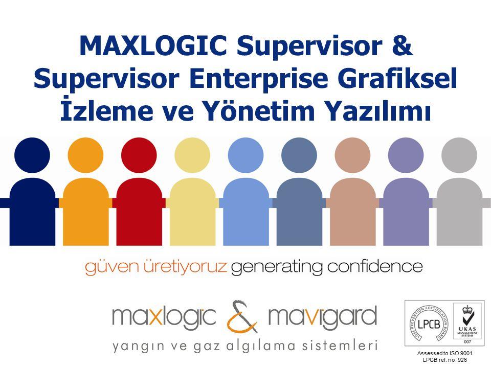 www.mavili.com.tr Assessed to ISO 9001 LPCB ref. no. 926 CCTV Entegrasyonu