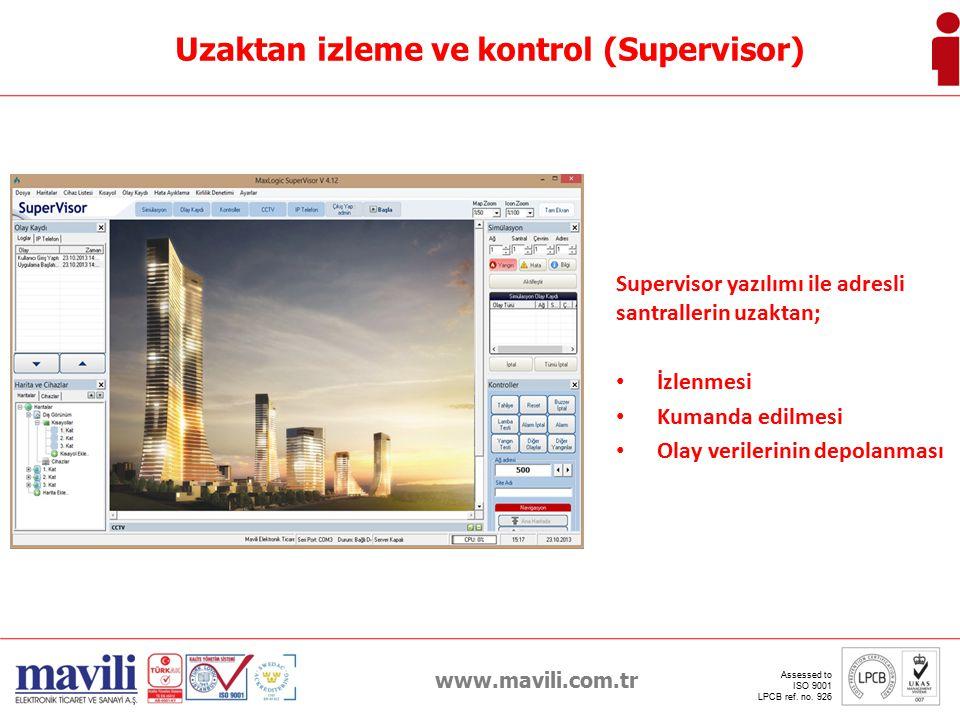 www.mavili.com.tr Assessed to ISO 9001 LPCB ref. no. 926 IP Telefon