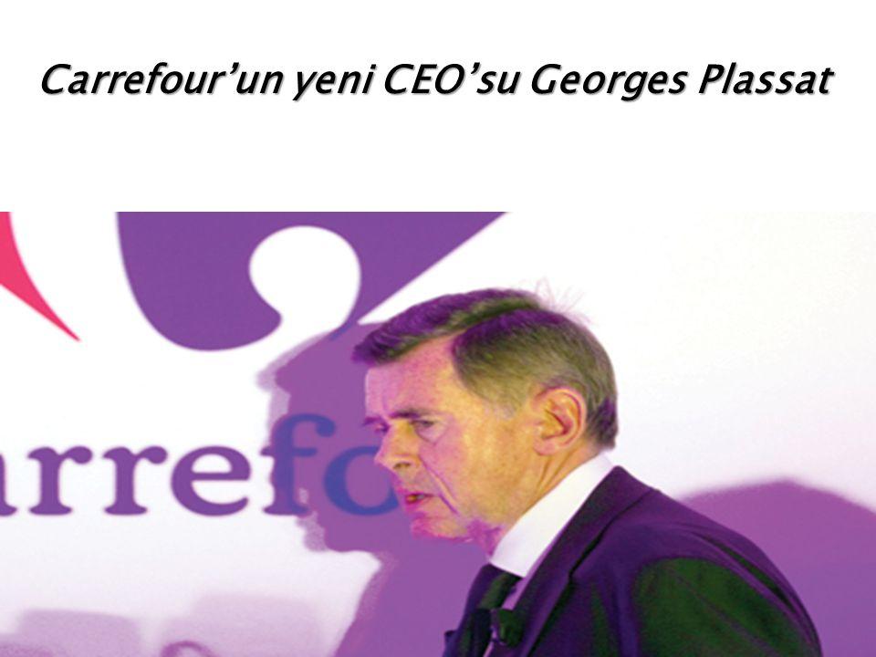 Carrefour'un yeni CEO'su Georges Plassat
