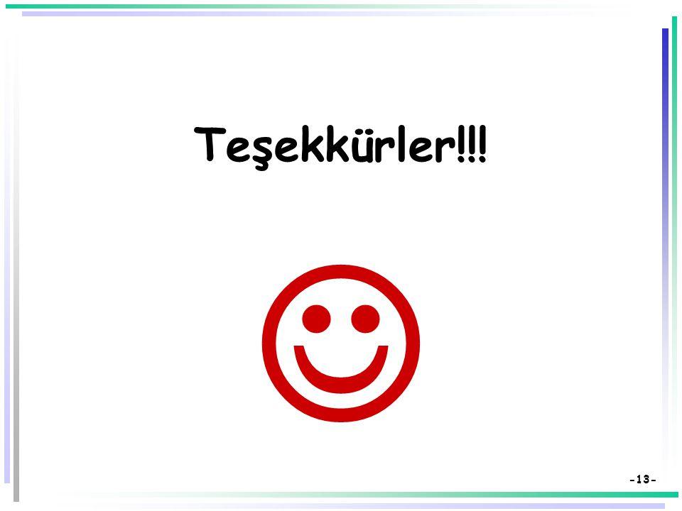 -12- Kaynakça  Bilen, M. (1999). Plandan uygulamaya öğretim. Ankara: Anı Yayıncılık.  Demirel, Özcan (2008). Öğretim İlke ve Yöntemleri: Öğretme san
