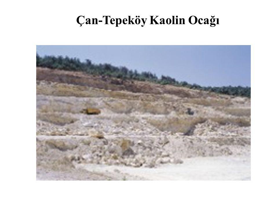 Çan-Tepeköy Kaolin Ocağı