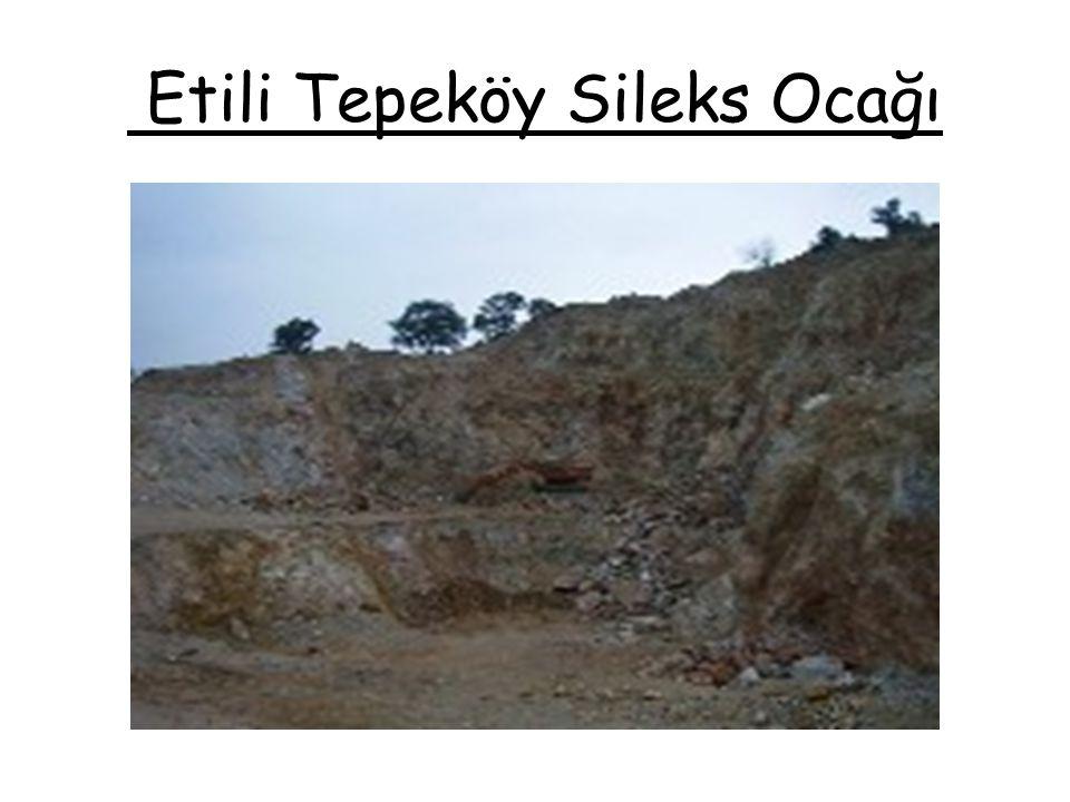 Etili Tepeköy Sileks Ocağı