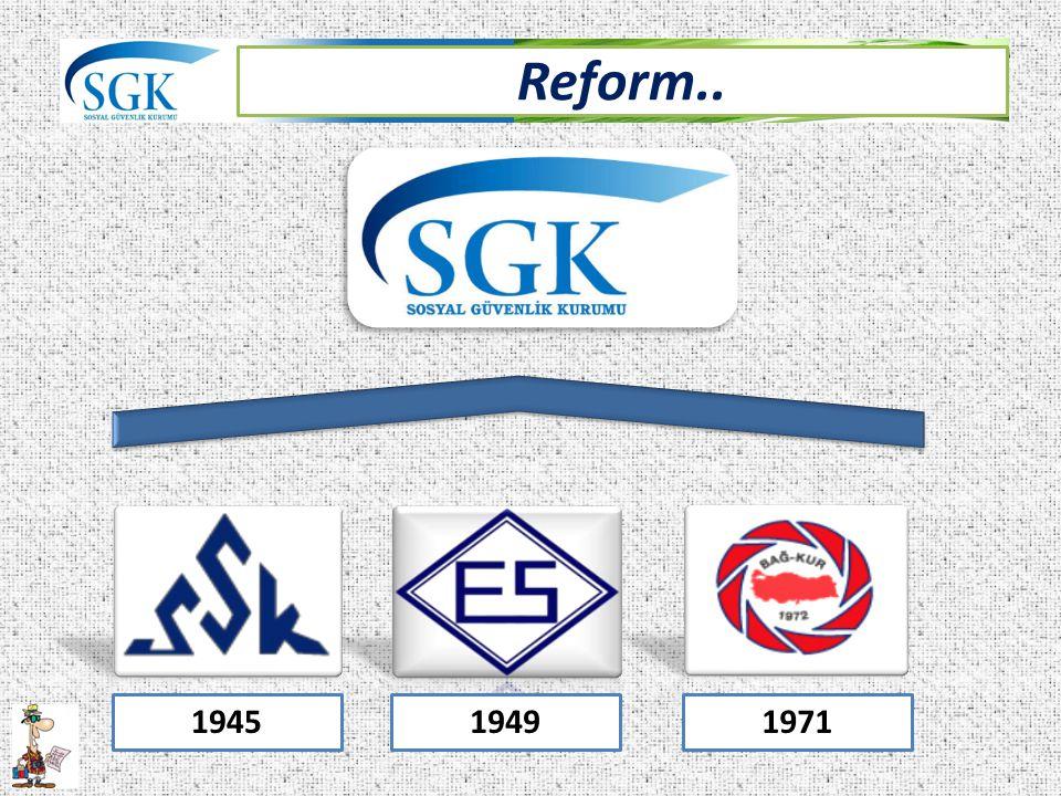 Reform.. 194519491971