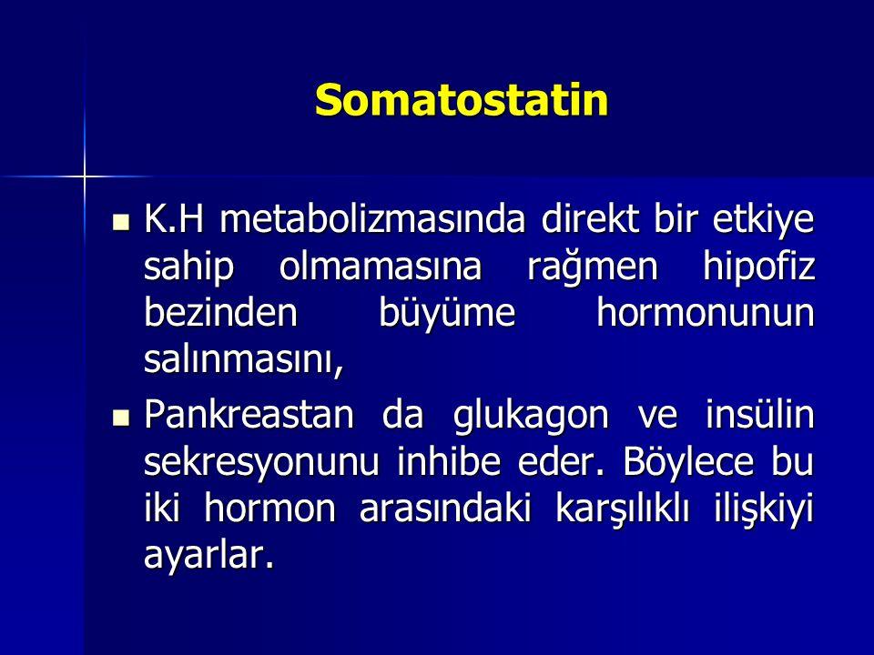 İnsülin ve Glukagonun Pankreatik Sekresyonuyla Kan Glukoz Kontrolü