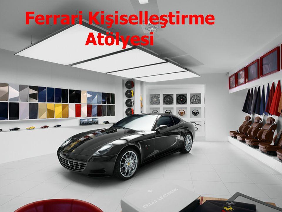 Ferrari Kişiselleştirme Atölyesi